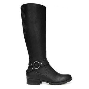 LifeStride Women Boots Black Tall Riding Shoe NEW